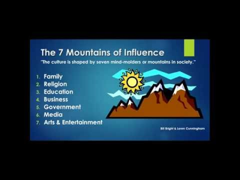 The Seven Mountains of Influence and How You Influence Them