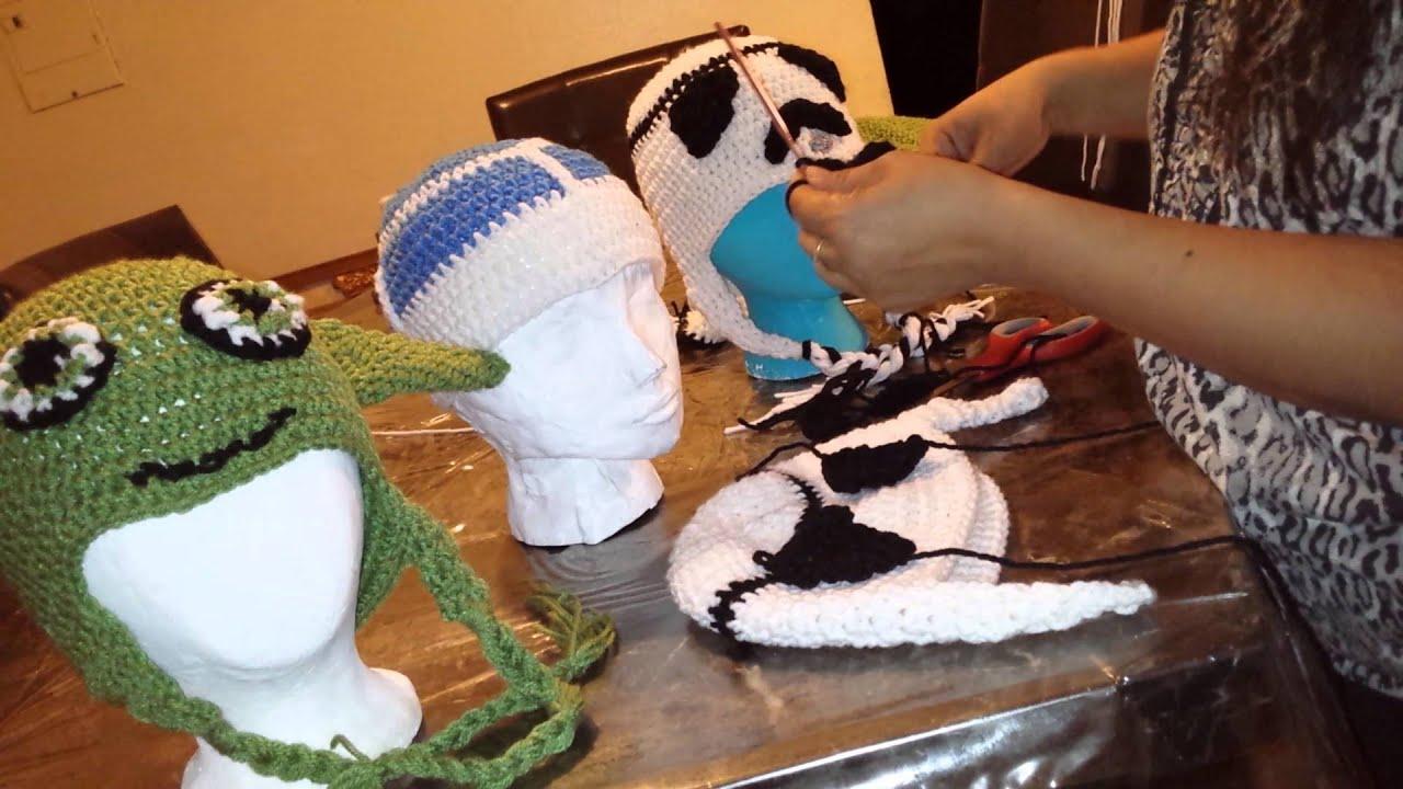 Star wars : soldado de asalto gorra de crochet - YouTube