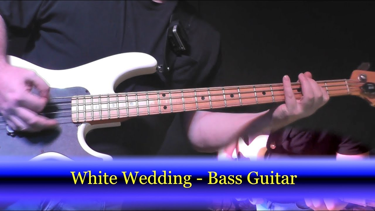 Learn To Play B White Wedding Billy Idol Guitar