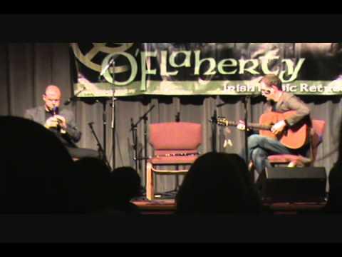 Kevin Crawford and John Doyle - O'Flaherty Irish Music Retreat 2011