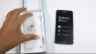 samsung galaxy a9 pro india unboxing hands on