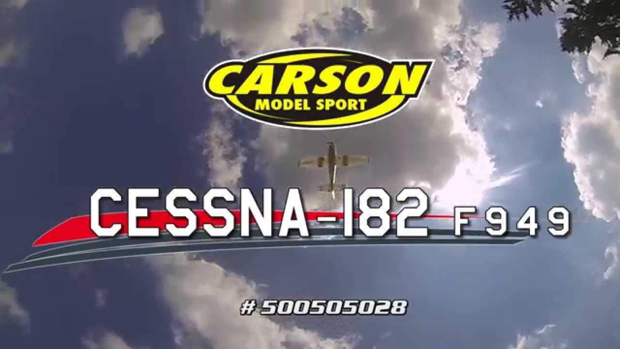 Carson Cessna 182 Skylane Micro 2.4G 100/% RTF 500505032