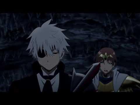 Hajime shows no mercy to his classmates (dub)