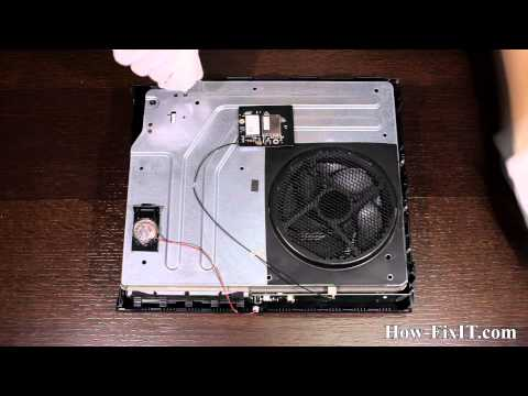 XBOX One disassembly and fan cleaning