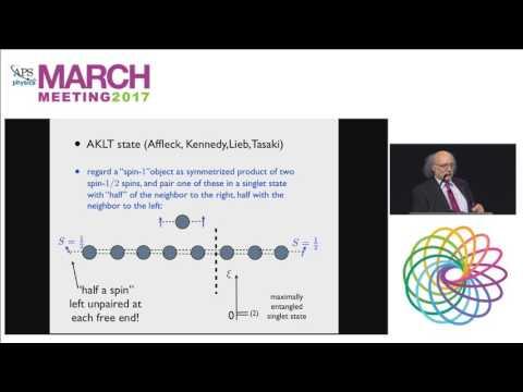 Topological States of Quantum Condensed Matter: Duncan Haldane
