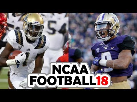 UCLA @ Washington - 10-28-17 NCAA Football 18 PRESEASON Simulation
