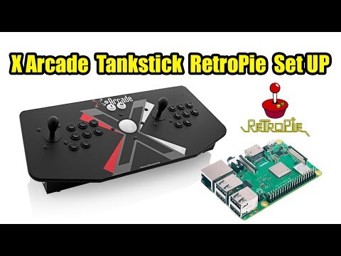 How To Set Up X Arcade TankStick In RetroPie 2018 - YouTube