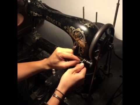 Singer 17 leather sewing machine from SYP Leather Craft