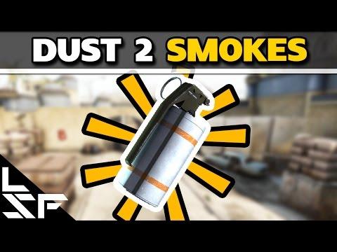 MUST KNOW DUST 2 SMOKES - CS:GO Smoke Tutorial (Special Edition)