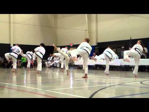 Region 6 Spring Dan Testing - Black Belt Linedrills pt 2 - May 16, 2015 New Braunfels, TX