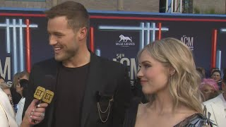 ACM Awards 2019: Colton Underwood and Cassie Randolph Interview (Exclusive)