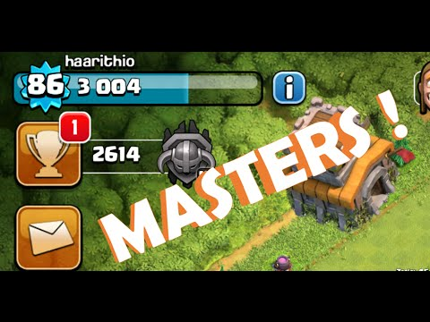 CLASH OF CLANS - AN EASY & UPDATED TH8 GUIDE TO MASTERS LEAGUE