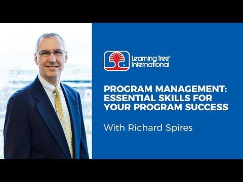 Program Management: Essential Skills for Your Program Success