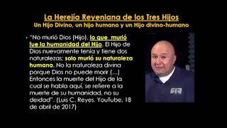 Luis Carlos Reyes se Autoidentifica como un Hereje Nestoriano