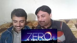 "ZERO Trailer Reaction """"Pathan Reaction Pakistan"""" Shahrukh Khan-Anushka-Katrina Kaif"