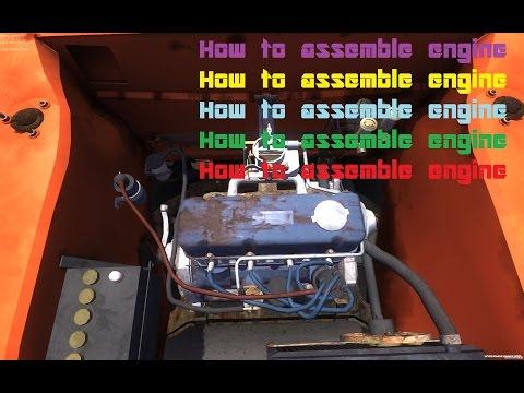 Как собрать двигатель в My Summer Car | How to assemble engine.
