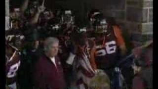 Hokies entrance vs. Miami