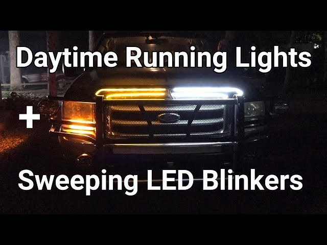 daytime running lights video, daytime running lights clip
