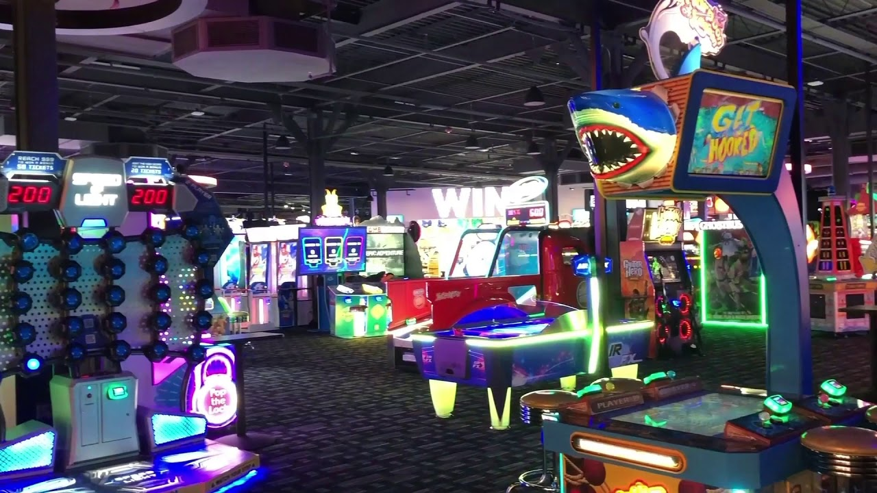 Dave And Busters Tour Video Youtube