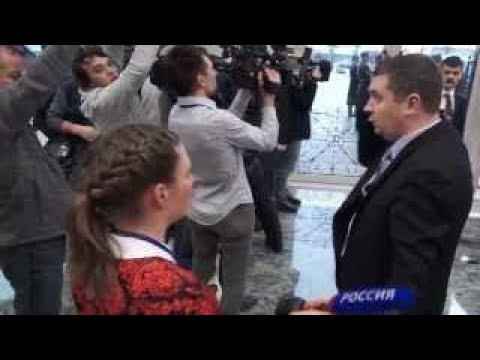 Охранник Порошенко vs Ольга Скабеева !!! Другая версия :)