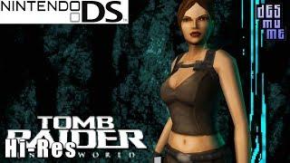 tomb Raider: Underworld - Nintendo DS Gameplay High Resolution (DeSmuME)