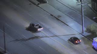 02/07/19: Car Chase Suspect Flees Moving Truck - Unedited