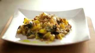 Картофель, запеченный с артишоками и маслинами