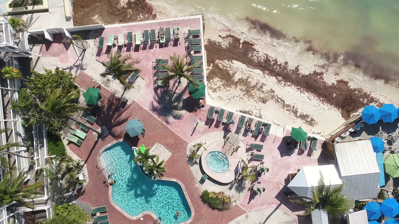 Coconut Beach Resort Key West Drone Flight 1 10 2018