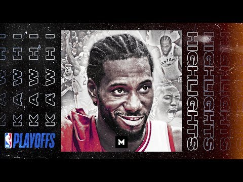 Kawhi Leonard Is The BEST Player In The World | HISTORIC POSTSEASON HIGHLIGHTS!