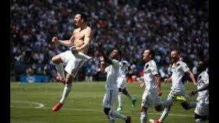 Zlatan Ibrahimovic Insane Debut Goal ● Fans Camera
