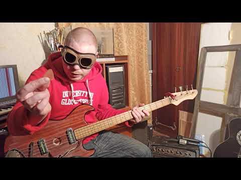Как научиться играть на Бас гитаре за 5 минут. ��