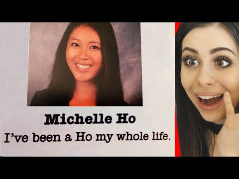 Funniest YEARBOOK QUOTES Ever !