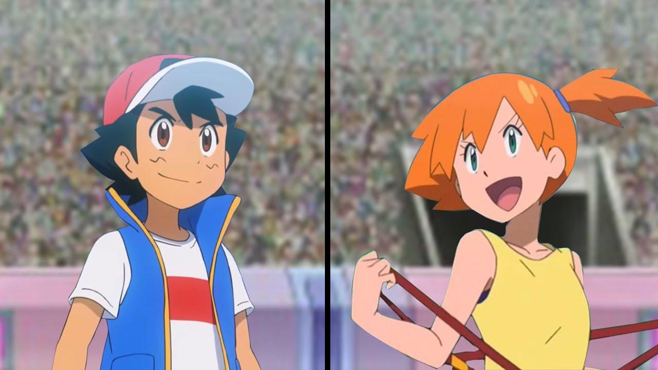 Download Pokemon Characters Battle: Ash Vs Misty (Water Type Pokemon Showdown)