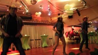 Demo combi, Line Dance, Barbara Seelt, Tommy Nijhuis,Vincent de Jong 2014-03-29