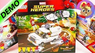 LEGO Marvel Samolot Kapitana Ameryki 76076 | unboxing i składanie
