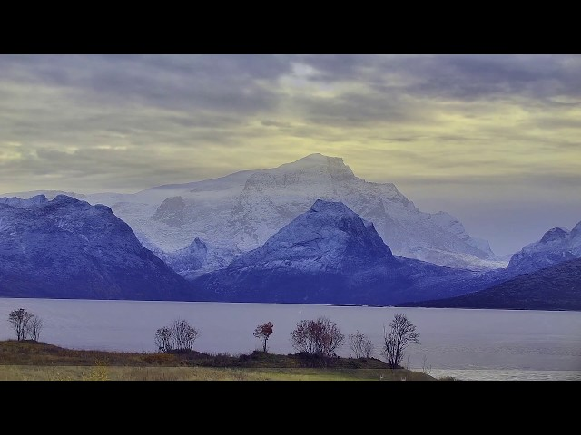 Morning Mood from Norways most beautiful view. Steigen, Nordland.