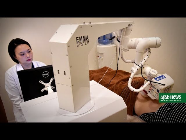 Emma the robot masseuse gets down to work in Singapore