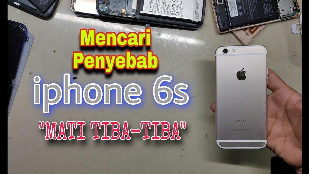 Cara Mencari Penyebab Iphone 1S Mati Tiba-tiba.