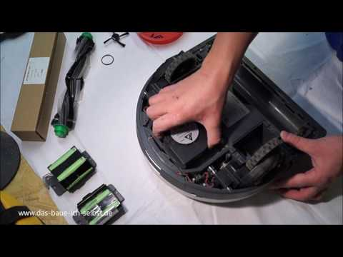 vorwerk-vr100---vacuum-cleaner-robot-disassembly-for-repair-or-cleaning
