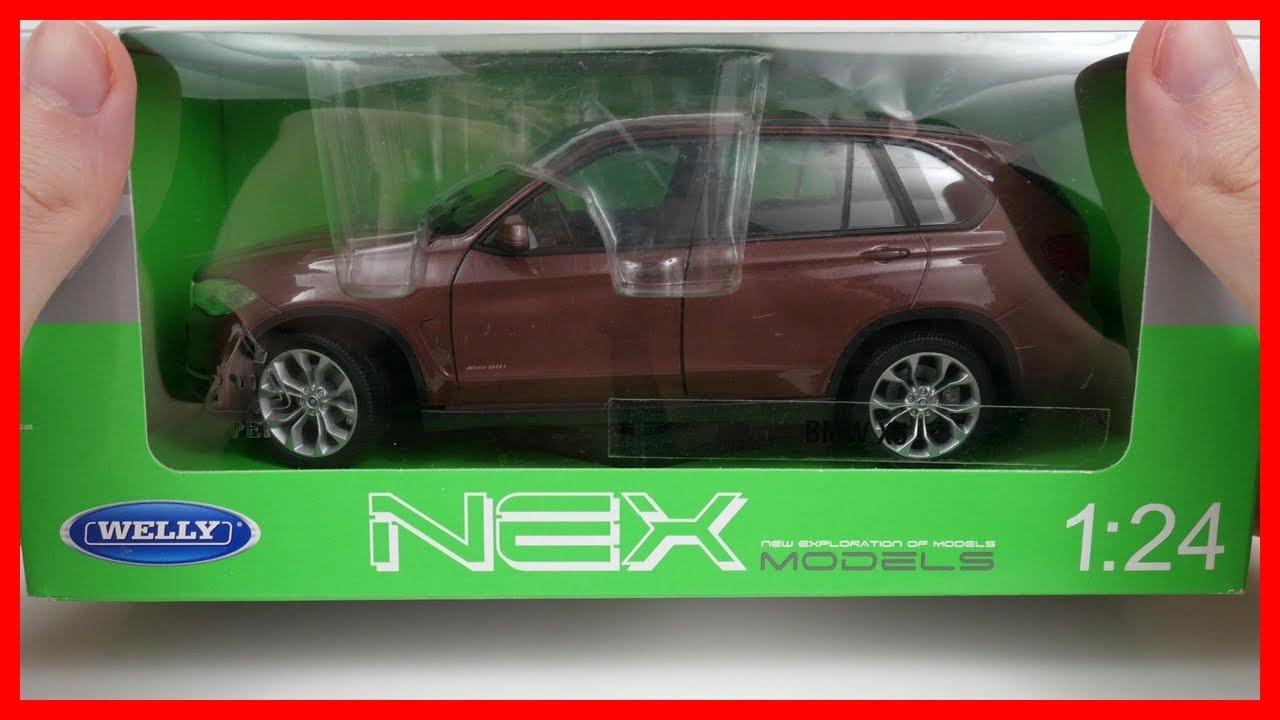 Cars Bmw X5 Welly Diecast Scale 1 24 Model Car Kids Toy
