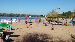Пляжный волейбол, чемпионат Украины, мужчины, финал. Прямая трансляция 8/05/2017