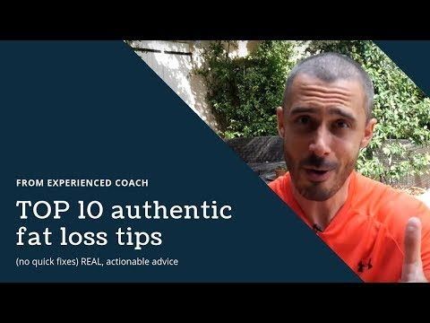 TOP 10 authentic fat loss tips from experienced coach (no quick fixes) REAL, actionable advice
