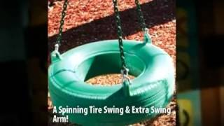 Pioneer Peak Swing Set - Gorilla Playsets - Playsetking.com