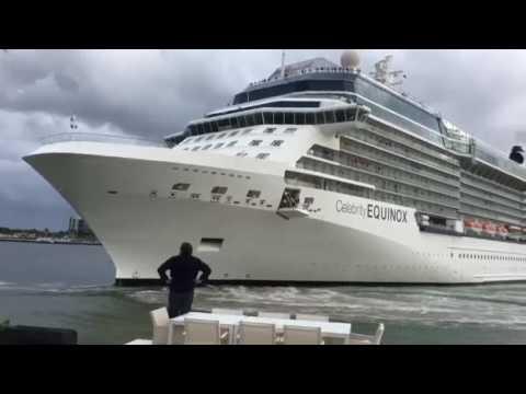 """Quella manovra troppo """"vicina"""" di Celebrity Equinox a Port Everglades ..."""