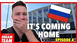 ENGLAND 6-1 PANAMA | RORY IN RUSSIA VLOG - EPISODE FOUR