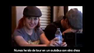 Paramore The Final Riot parte 1 (subtitulado en español)