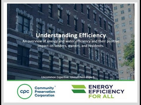Understanding Efficiency: An overview of energy and water efficiency and their positive impacts