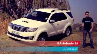 Toyota Fortuner D4 D 4x4 - Car Review
