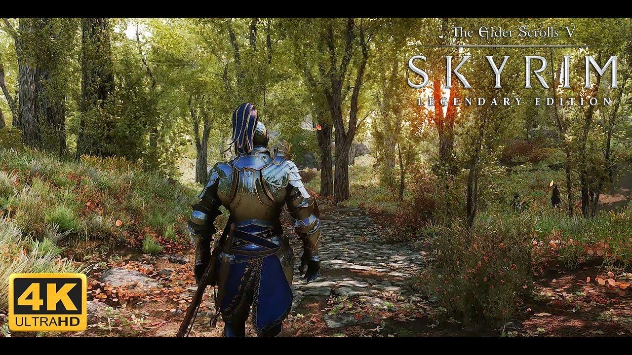 Skyrim Le Ultra Modded 4k Best Next Gen Graphics W