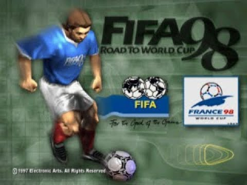 PSX Longplay [438] FIFA - Road To World Cup '98